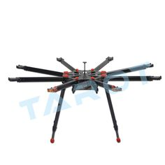 376.20$  Watch now - http://alirrl.worldwells.pw/go.php?t=32713235265 - Octocopter frame Tarot X8 Carbon Fiber Frame Kit Parts Set Diy Drone Accessories Big rc drones grandes octocopter x8 multicopter