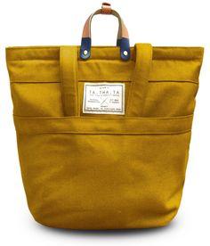 Ta.Tha.Ta Swift /// convertible backpack bag /// colour yellowstone
