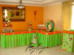 Chaco del Ocho Party ~ Decorations ~ Dessert Table