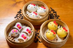 The most popular dishes are (surprise surprise) the dumplings. | 21 Things We Learned At Hong Kong's Hello Kitty Restaurant