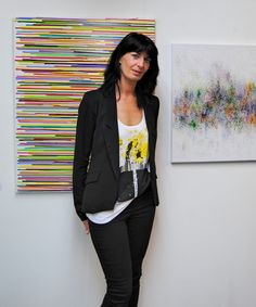 London The Brick Lane Gallery May 2015 Brick Lane, Contemporary Paintings, London, Blazer, Abstract, Gallery, Jackets, Women, Fashion
