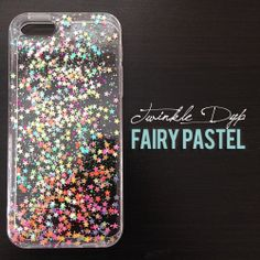 Hey, I found this really awesome Etsy listing at https://www.etsy.com/listing/151441884/fairy-pastel-iphone-case-glitter-case