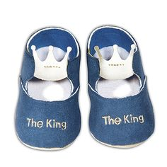 """""""The King"""" Baby Shoes"""