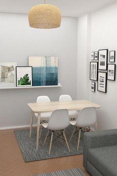 The Best 2019 Interior Design Trends - Interior Design Ideas Formal Living Rooms, Living Room Decor, Dinner Room, Modern Tiny House, Indian Home Decor, Ikea Home, Office Interior Design, Decorating Your Home, House Design