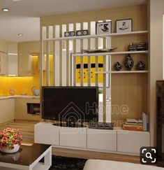 Below are the Partition Living Room Ideas. This article about Partition Living Room Ideas was posted under the Furniture category. Living Room Partition Design, Living Room Divider, Room Partition Designs, Living Room Tv Unit Designs, Living Room Decor, Home Room Design, House Design, Modern Tv Wall Units, Modern Room