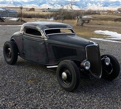 Very clean lines for a rat rod..!