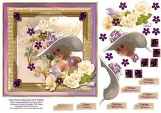 Your Quiet Beauty Card Topper 1 by Mary Jane Harris The perfect card for celebrating so many of life's special occasions!