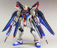 RG 1/144 Strike Freedom Gundam Full Burst Mode Painted Build - Gundam Kits Collection News and Reviews