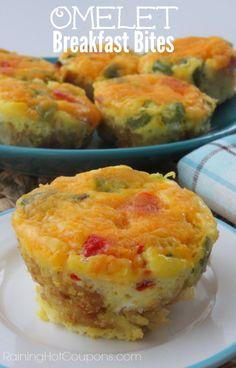 Omelet Breakfast Bites