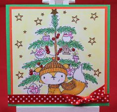 Tinas kreative Seite - #19 von 24 Squares for Christmas