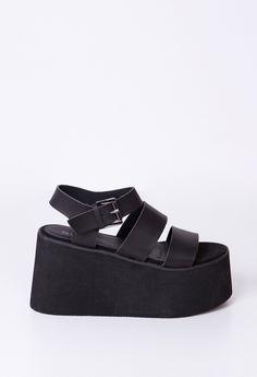 PLATAFORMA GRANT negro Dark Fashion, Platform Shoes, Summer Shoes, Beautiful Outfits, Mary Janes, High Heels, Platforms, Sneakers, Womens Fashion
