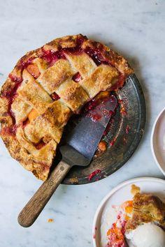 Apricot and Raspberry Pie-YOSSY AREFI'S FRUIT PIE