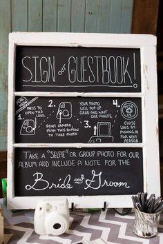 Instax Wedding Guestbook