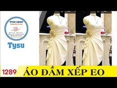 Hướng dẫn cắt may TysuShop số 1289: Áo Đầm Xếp Eo - YouTube Collar Dress, Peplum Dress, Blouse Tutorial, Kids Frocks Design, Dress Neck Designs, Frock Design, Corsage, Style Inspiration, Formal Dresses
