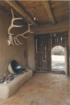 bensozia: Georgia O'Keeffe's House at Abiquiu