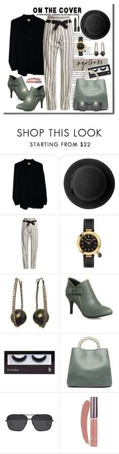 """Boss"" by ohlmanvickie ❤ liked on Polyvore featuring Vila Milano, Michael Kors, Monki, Vanessa Bruno, Salvatore Ferragamo, BBrowBar, Marni, Elizabeth and James and Christian Dior"