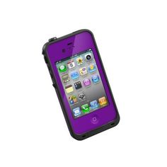 LifeProof iPhone 4/4S Case Purple: http://www.amazon.com/LifeProof-iPhone-4S-Case-Purple/dp/B005WUH9X4/?tag=weilosfin-20