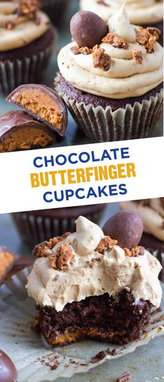 During your Easter celebrations with family and friends, make this delicious recipe for Chocolate Butterfinger Cupcakes. This delectable dessert is topped with a peanut butter buttercream frosting and the crispety, crunchety, peanut-buttery taste of BUTTERFINGER® Cup Eggs. Filled with flavor, this is the perfect treat to serve over the Easter weekend.