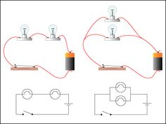 parallel and series circuits for elementary school - Google Search