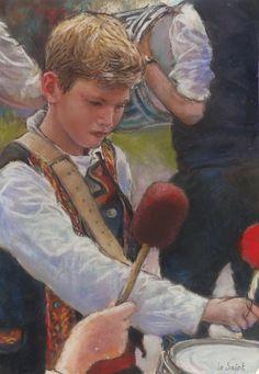 Jean-François Le Saint - Young reenactment players
