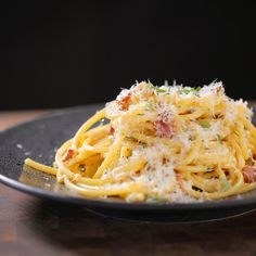 Cooked Chicken Temperature, Bucatini Pasta, Pasta Recipes, Bucatini Recipes, Dinner Recipes, Guy Fieri, Pasta Dishes, Food Network Recipes, Entrees