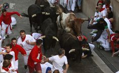 San Fermin aka Running Of The Bulls 2014