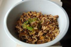 Badylarnia: Ryż, soczewica, brokuł i 'Forks over knives'