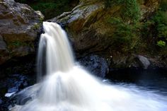 Le Parc des Sept-Chutes - Saint-Pascal Bas Saint Laurent, Waterfall, Outdoor, Cross Country Skiing, Pathways, Park, Tourism, Vacation