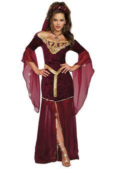 Women's Medieval Enchantress Costume