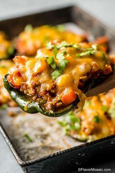 Stuffed Chile Relleno Recipe - Flavor Mosaic