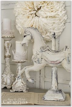 I love this beautiful vignette! So pretty for a cottage or French country home! #whitetogray #cottagestyle #frenchcountry