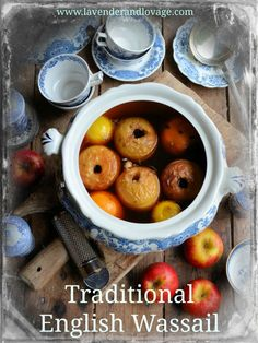 Twelfth Night, Apples and Wassailing: A Traditional English Wassail Recipe (Lavender and Lovage) Hp Sauce, Simply Yummy, Twelfth Night, Christmas Treats, Christmas Drinks, Christmas Foods, Holiday Drinks, Christmas Cooking, Tea Parties