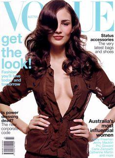 Fernanda Tavares by Todd Barry Vogue Australia March 2002