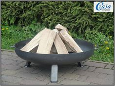 Fire Bowl Free Delivery in Germany Kiel Diameter 80 cm Feuerschale Garden Fire Pit, Fire Pit Backyard, Fire Pit Landscaping, Fire Pit Materials, Fire Pit Grill, Outdoor Fireplace Designs, Fire Pit Designs, Wood Burning Fires, Wood Logs