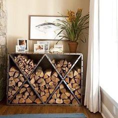 Cómo y dónde organizar la leña en casa #newpost #barcelonette  #decobarcelonette #design #delicious #decor #decorations #decoracion #wood #fireplace #chimenea