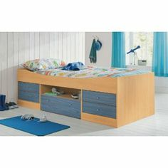 Buy Malibu Blue Cabin Bed with Bibby Mattress at Argos.co.uk - Your Online Shop for Children's beds, Children's beds.
