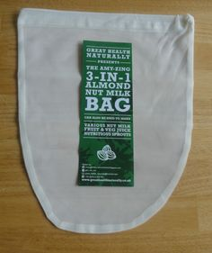 Nut Milk Bag Hemp Kitchen Gadgets Tools