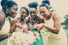 Kemisha and her bridesmaids admiring the gorgeous wedding ring Raphael gave her. Congratulations to the both of you! our website: weddingphotographybyliam.com #Miamiweddingphotographers #weddingphotographers #weddingphotographer #Wedding #weddingideas #weddingplanningideas #weddingdress #weddings #weddingpictures #weddingpics #WeddingPhotography #Weddings #WeddingPlanning #WeddingInspiration #Bride #Miamiwedding