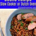 Authentic Boston Baked Beans Recipe for Slow Cooker or Dutch Oven Navy Bean Recipes, Baked Bean Recipes, Low Carb Recipes, Best Slow Cooker, Slow Cooker Recipes, Crockpot Recipes, Cooking Recipes, Cookbook Recipes, Delicious Recipes