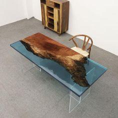 Wood Slab, Walnut Wood, Epoxy Wood Table, Metal Table Legs, Table Sizes, Unique Colors, Types Of Wood, Wood Grain, Solid Wood