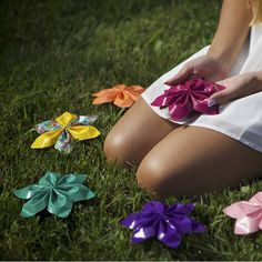Create a cute DIY duct tape string flower.  http://www.duckbrand.com/craft-decor/activities/string-flowers?utm_campaign=dt-crafts&utm_medium=social&utm_source=pinterest.com&utm_content=duct-tape-crafts-flowers