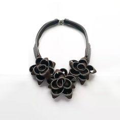 Metal zipper necklace Zipper, Metal, Bracelets, Jewelry, Fashion, Moda, Jewlery, Jewerly, Fashion Styles