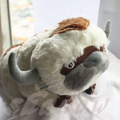 """20"""" Appa Plush Huge Jumbo Toy From Avatar the Last Airbender To Kids X'mas Gift"""