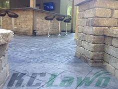 K.C. Lawn & Landscaping, Inc.Decorative Concrete. Call 816-741-2035 for a quote today, or visit www.kclawnlandscaping.com.