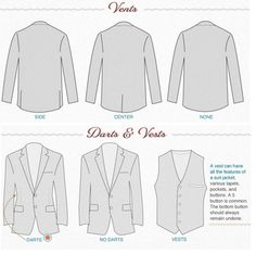 Men's Suits Vests