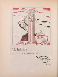 * L'infidèle un parfum de Vigny - Gazette du bon genre 1920