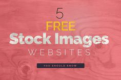 Know about free #stock #photos websites and get in touch with latest #technology