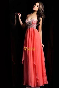 2013 Prom Dresses Empire Waist Halter Floor Length Chiffon USD 154.52 PY9T2RNN - VoguePromDresses