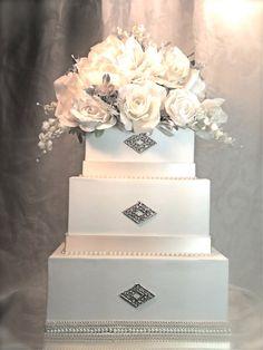 Wedding Card Box Reception Card Holder Custom by WrapsodyandInk, $132.00