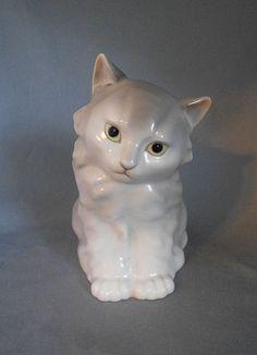 Vintage Подписано Noritake Nippon Токи Kaisha Cat Фигурка на животных
